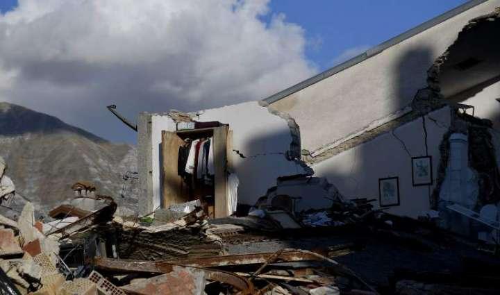 Quake-hit Italy reeling again as Italy hit by quake triple-punch