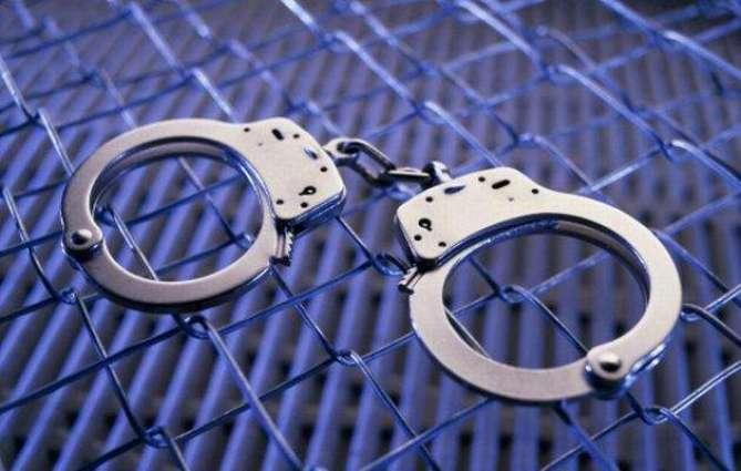Fireworks seized; 5 arrested