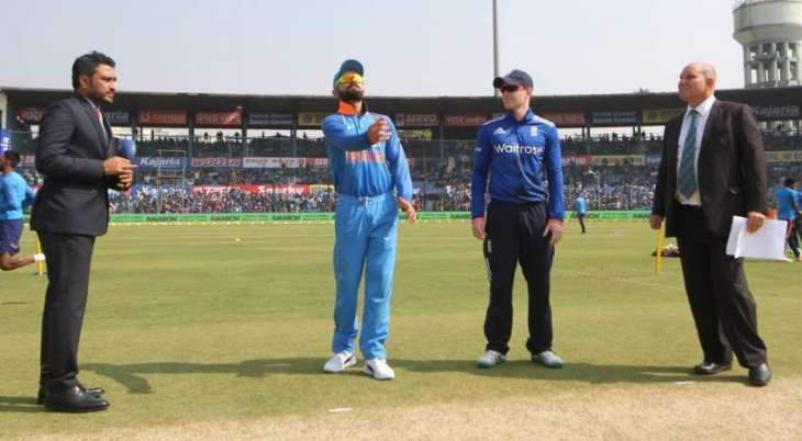 Cricket: England win toss, bowl in second India ODI