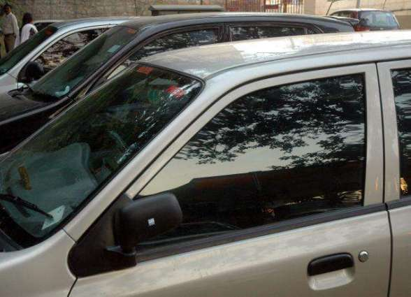 Ban on display of arms, tinted glass vehicles