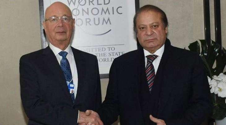 WEF Chairman appreciates Pakistan's economic progress