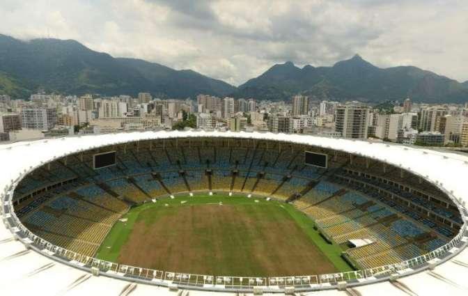 Football: top Rio stadium in disrepair as firms quarrel