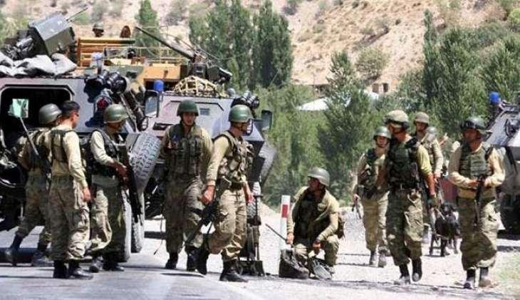 ترک فوجی آپریشن نا 149می دے 18دہشت گرد تپاخت