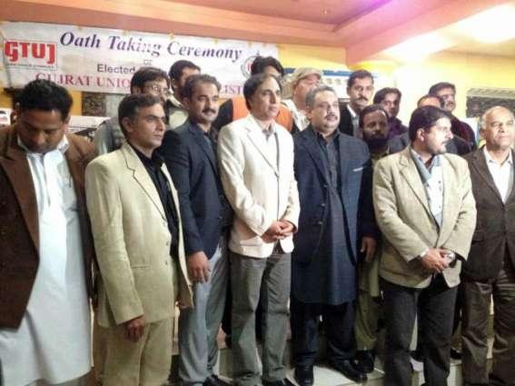 Journalist body oath-taking ceremony in February
