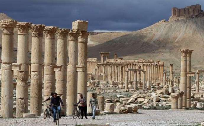 IS destruction at Syria's Palmyra a 'war crime': UNESCO