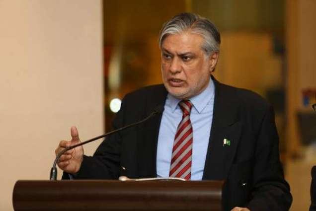 Ishaq Dar stresses need to avoid politics on economic matters
