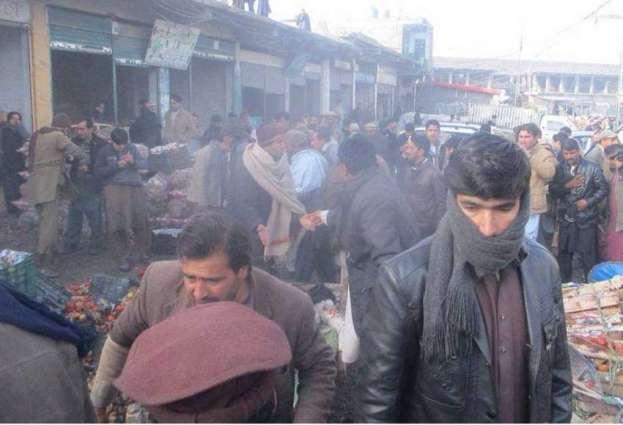 Blast in Parachinar market, 15 dead