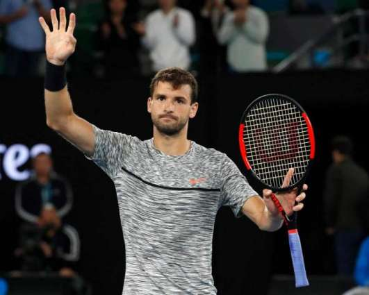 Tennis: Dimitrov downs Gasquet in early-morning finish