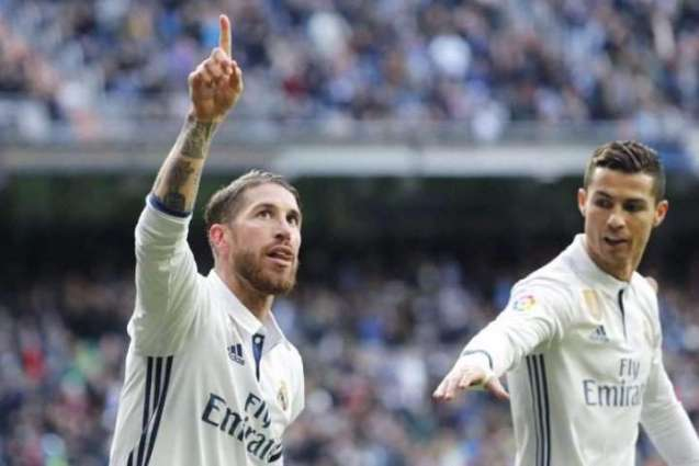 Football: Ramos saves Madrid as fans target Ronaldo