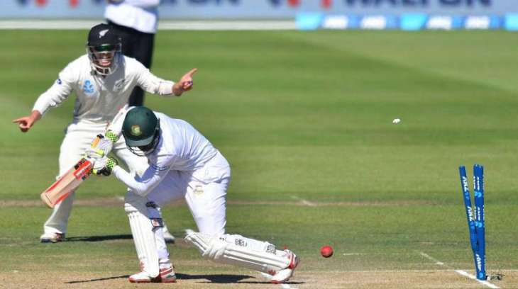 Bangladesh out for 173, New Zealand chase 109