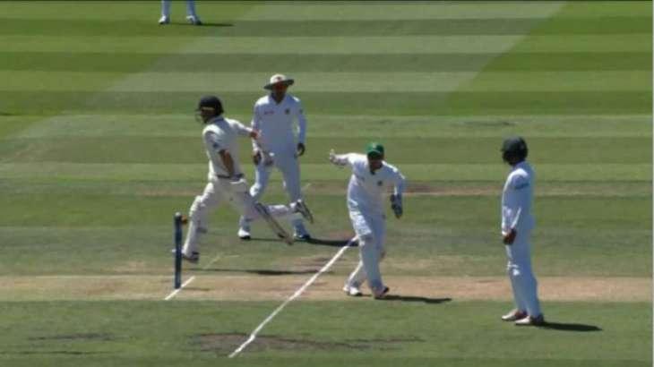 Bizarre dismissal ends New Zealand innings