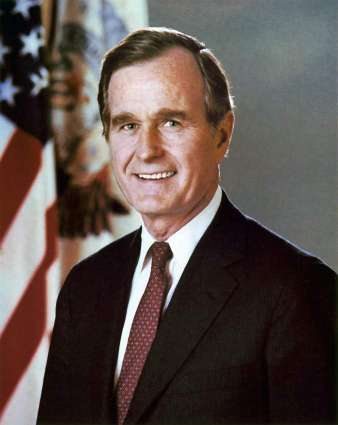 Elder Bush out of intensive care, wife Barbara released
