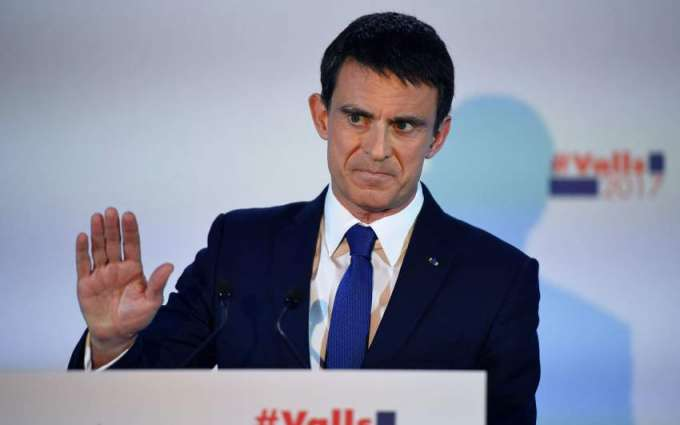 Ex-PM Valls fights outsider for French presidential nod