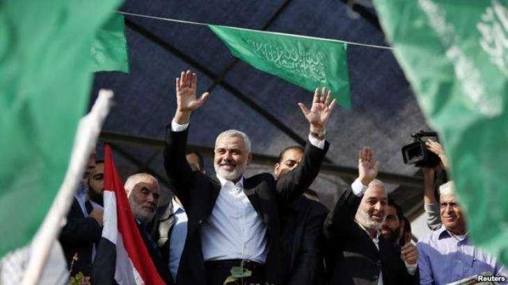 حماس دے رہنما ا سماعیل حانیہ مصر پج گے