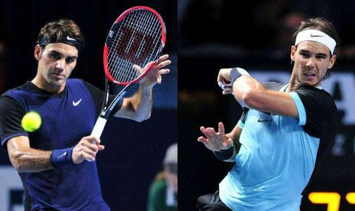 Tennis: Nadal closes in on Federer final