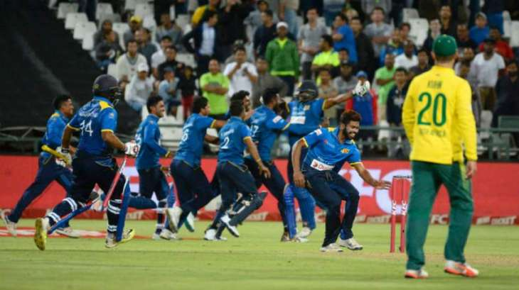 South Africa v Sri Lanka T20 scoreboard