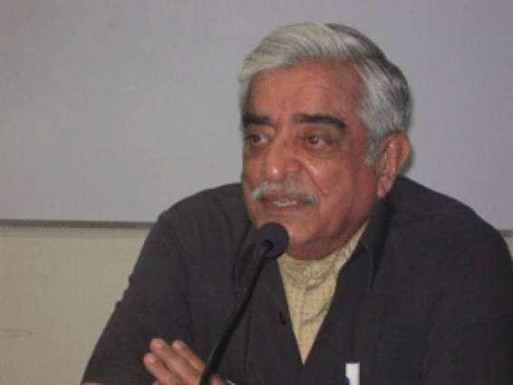 بھارت دے یوم جمہوریہ تے کنٹرول لائن دے ڈوہیں پاسے یوم سیاہ مناونڑ اہمیت داحامل ہے، سابق سفیر نجم الدین شیخ