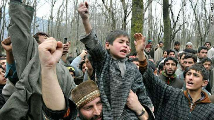 Kashmiris demand immediate Intl. community role for early settlement of Kashmir dispute