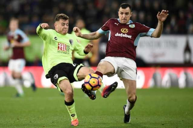 Burnley's Marney out for rest of season