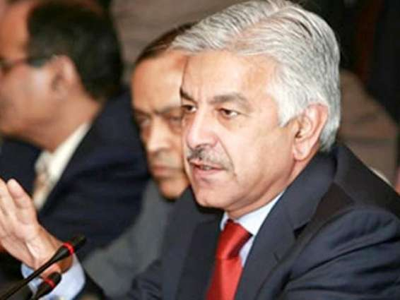 PTI leaders should present themselves for accountability: Asif