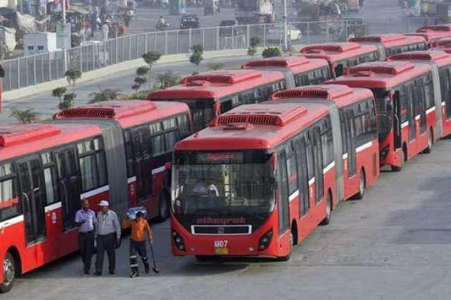 میٹرو بس وچ سفر مہنگا پے گیا، سفر دوران شہری دی جیب کٹی گئی