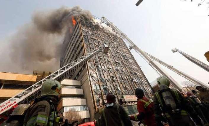 Tehran fire chief praises bravery in tower blaze