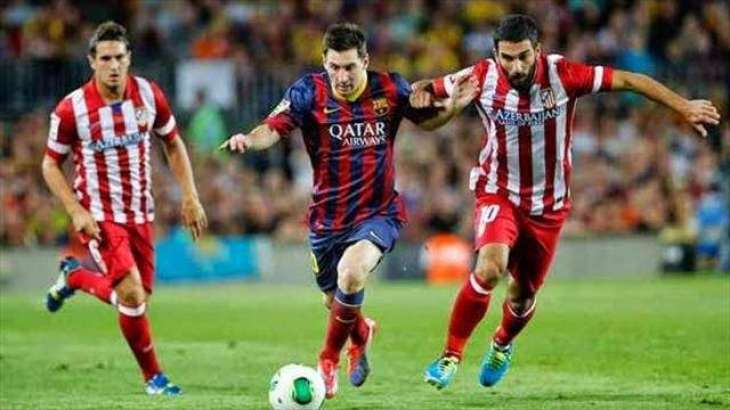 Atletico draw Barca in Cup semi thriller
