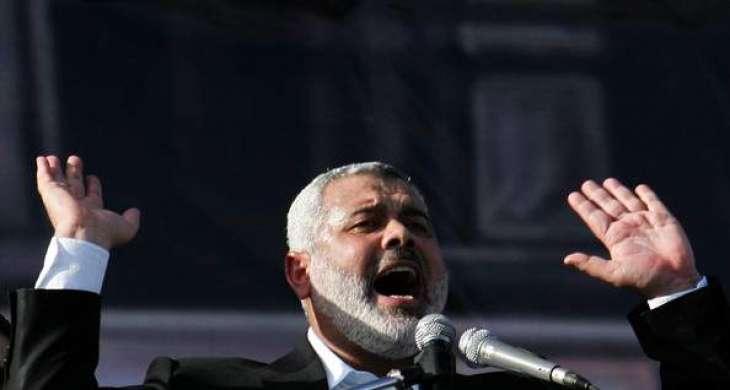 Hamas leader praises Egypt after Gaza return