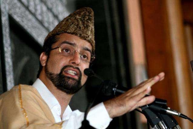 India pursuing policy of repression in IoK: Mirwaiz