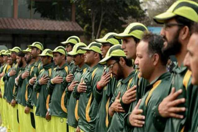 Pak team leaves for India to take part in T-20 Blind World Cup Cricket