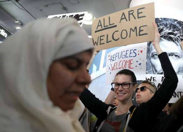 Canada offers temporary home to those stranded by Trump order