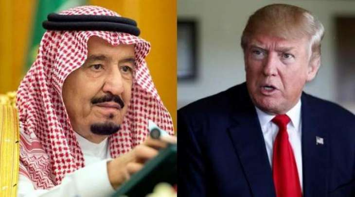 Trump calls Saudi king Shah Salman