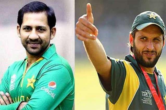 Afridi backs Sarfraz for captaincy