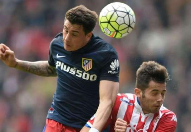 Football: Atletico's Gimenez sidelined by thigh injury