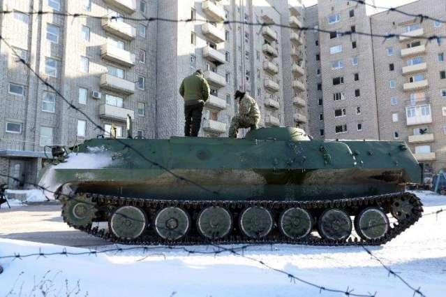 Ukraine fighting surges in spite of truce