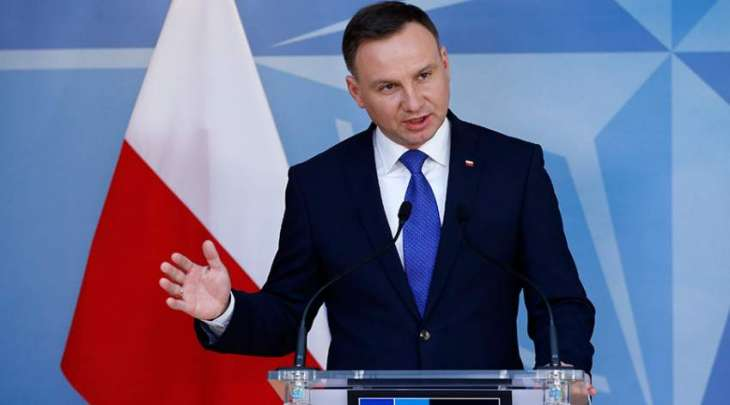 Poland's leader hails 'historic' presence of US troops