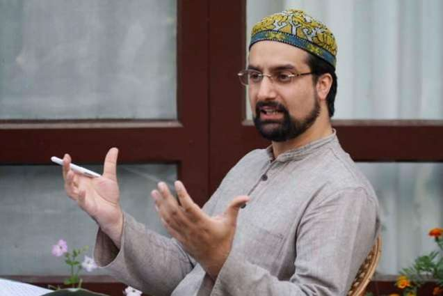 Efforts being made to weaken our institutions: Mirwaiz