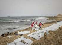 Bodies of 74 migrants wash up on Libya beach: Red Crescent