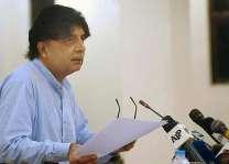 Nisar condemns terrorist attack in Charsadda
