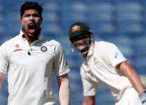 Cricket: India v Australia, 1st Test scoreboard