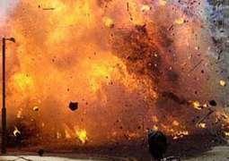 ڈی آئی جی ٹریفک پولیس احمد مبین دھماکے وچ شہید ہو گئے