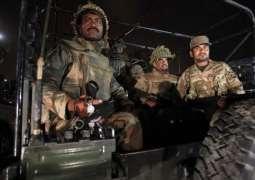 پشاور دہشت گرد حملے مگروں سکیورٹی فورسز دا تگڑا وار، 5دہشت گرد ہلاک