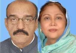 SHC ended the case of Faryal Talpoor's husband