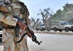 Sporadic operations against terrorist around the country