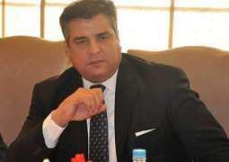 پاکستان مسلم لیگ (ن) دے رہنماتے رکن قومی اسمبلی دانیال عزیز دی میڈیا نال گالھ مہاڑ