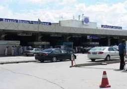 Unidentified person scaling wall of Benazir International airport arrested