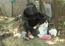 BDS disposes two bombs in Hangu