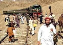 Two bogies of Bolan Express derail near Sehwan Sharif