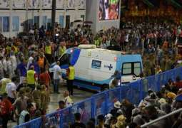 Bloody accident and rain mar joyful Rio carnival
