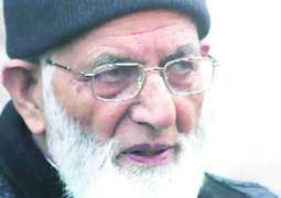 Syed Ali Gilani's tenure as TeH Chairman extended